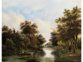 Hendrik Pieter Koekkoek, 1843 Hilversum - nach 1890 England