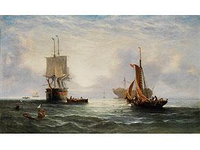 William Callcott Knell, 1830 England - nach 1876
