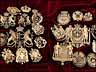 Detailabbildung: †Bedeutende Wappen europäischer Könige und Adeliger - 112 Stempel aus der Sammlung des königlichen Buchbinders