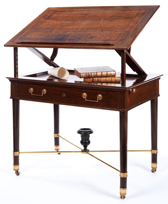 Kleiner Directoire-Schreibtisch (Table à la tronchain)