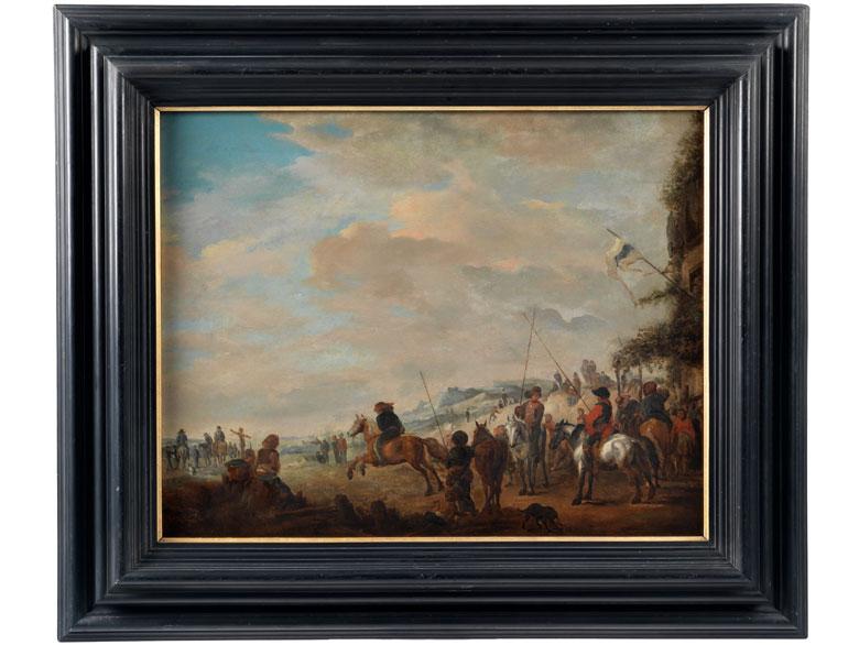 Maler des 17. Jahrhunderts in der Art von Wouwerman