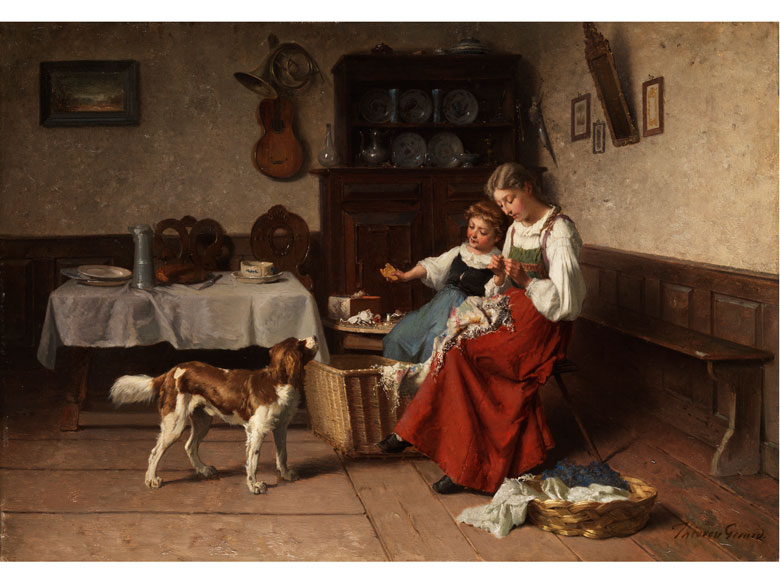 Théodore Gérard, 1829 Gent - 1895 Laeken/ Brüssel