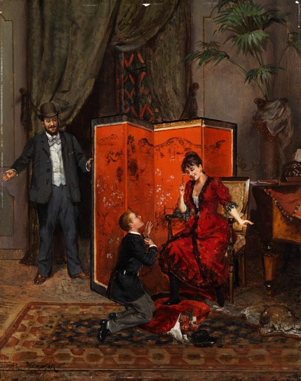 Paul Merwart, 1855 - 1902