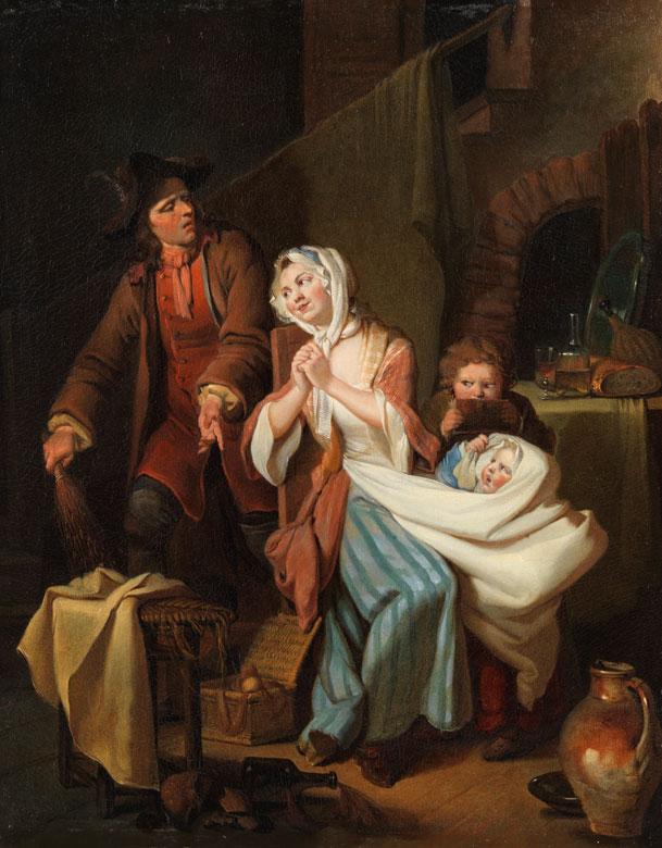 Johann Eleazar Schenau, 1737 Großschönau - 1806 Dresden