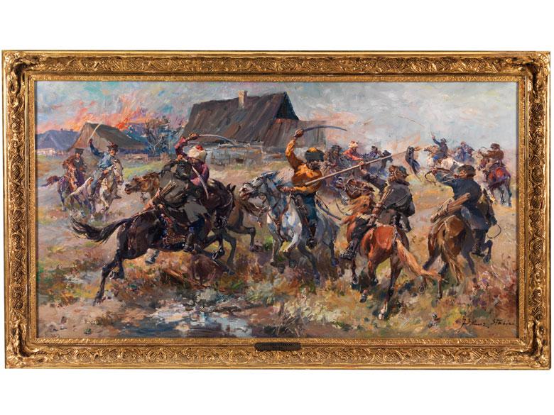 Juliusz Stabiak Polnischer Maler des beginnenden 20. Jahrhunderts