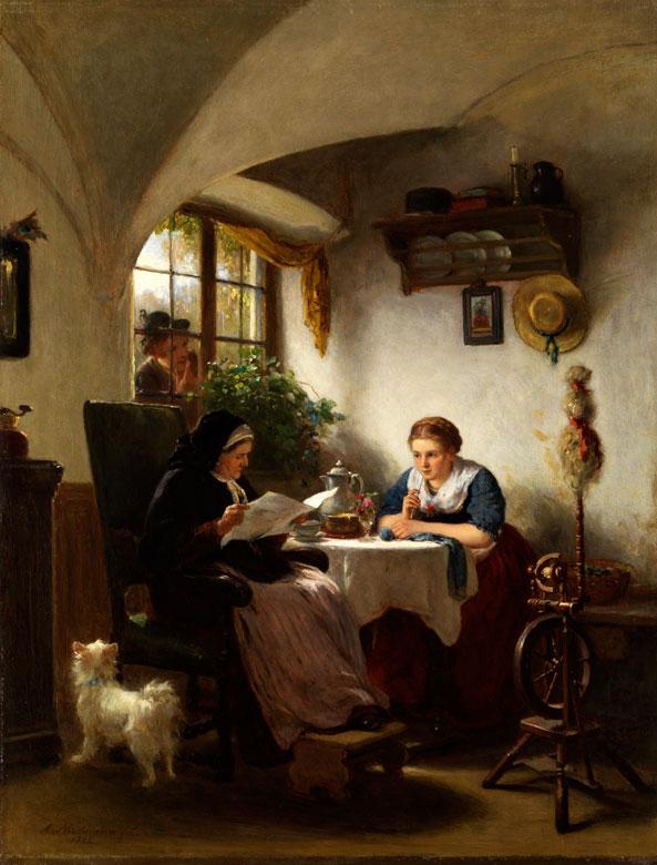 August Heinrich Niedmann, 1826 Braunschweig - 1910 Ried
