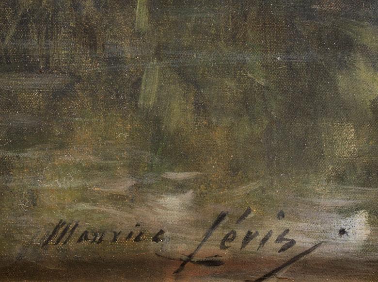 Maurice Levis 1860 1940 Hampel Fine Art Auctions