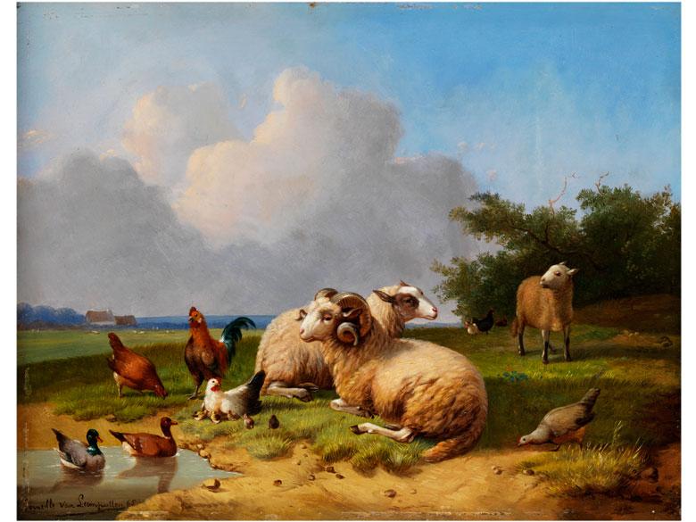 Cornelius van Leemputten, 1841 Werchter - 1902 Schaerbeek