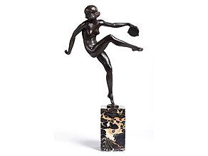 Pierre Laurel, französischer Bildhauer des Art Déco