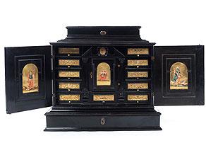 Kabinettschränkchen des 17. Jahrhunderts
