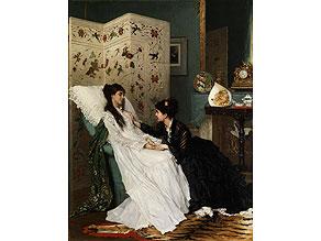 Gustave Léonhard De Jonghe, 1829 Courtrai - 1893 Antwerpen