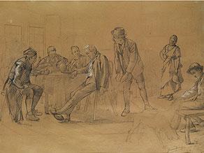 Gerard Tertielge Maler des 19. Jahrhunderts