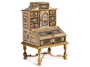 Louis XVI-Miniatur-Tabernakelsekretär