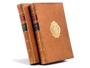 Zwei Bände: Gustav Friedrich Waagen
