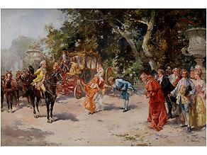 Vincente de Paredes, 1845 - 1903