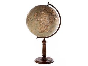 Detail images:  Relief-Globus