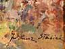 Detail images: Juliusz Stabiak Polnischer Maler des beginnenden 20. Jahrhunderts