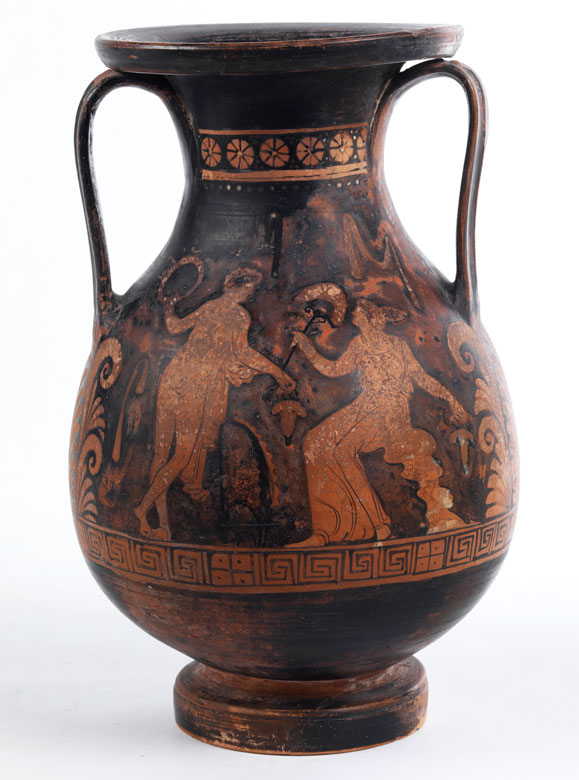 Griechische Amphorenvase (Pelike)
