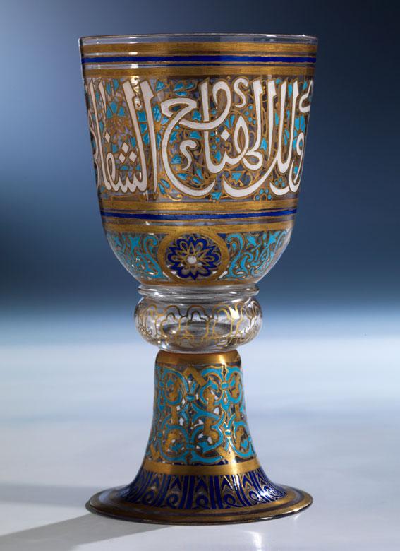 """Kelchglas aus der """"Arabischen Serie"""""""