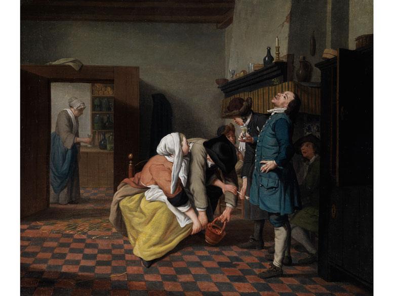 Jan Josef Horemans d. J., 1714 Antwerpen - 1790 Der Maler war Dekan der Lukasgilde in Antwerpen.