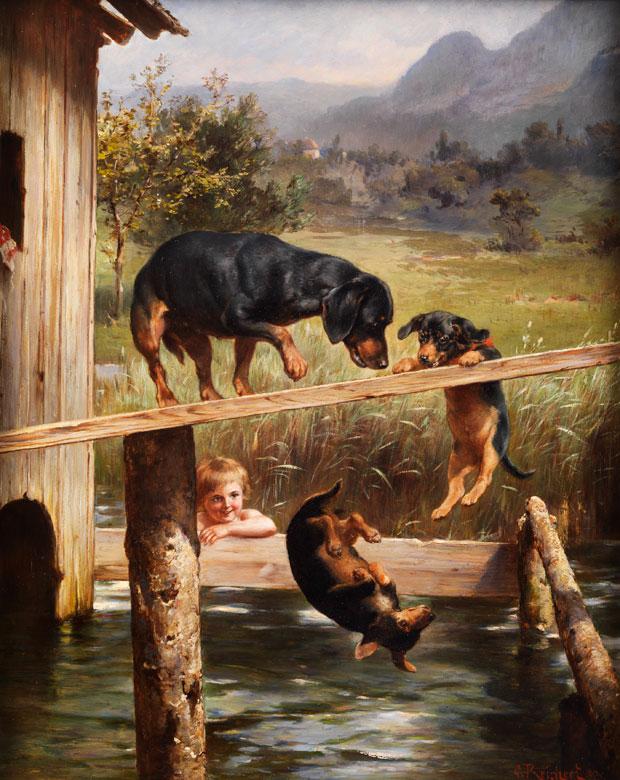 Carl Reichert, 1836 - 1918