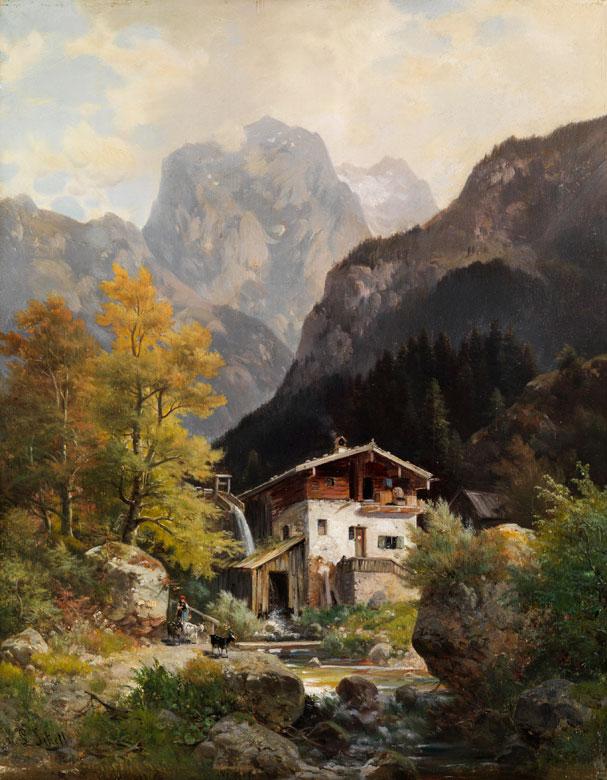 Ludwig Sckell, 1833 Schloß Berg - 1912 Pasing