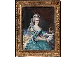 Miniaturbildnis der Madame Duplessis