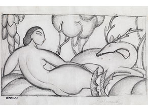 Tamara de Lempicka,  1898 Moskau - 1980 Cuernavaca, Mexico