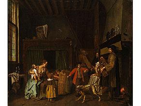 Jan Josef Horemans d. J., 1714 Antwerpen - nach 1790 Der Maler war Dekan der Lukasgilde in Antwerpen.