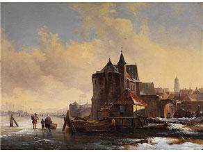 Louis Smets, Belgischer Landschaftsmaler, tätig um 1852 - 1868