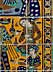 Detail images: Großes, persisches Fliesenbild
