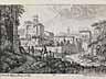 Detail images: Seltene Kupferstich-Folge mit Ansicht von Bologna