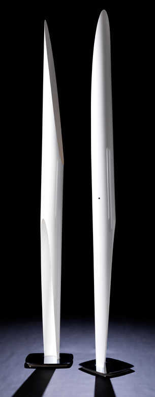 Paar Grosse Moderne Design Stehlampen Hampel Fine Art Auctions