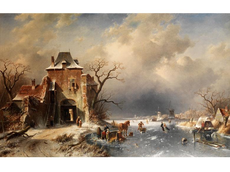 Charles Leickert, 1818 Brüssel - 1907 Mainz