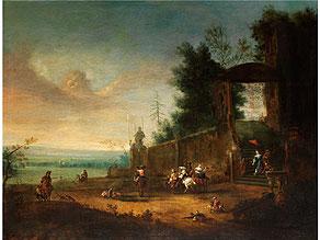 Maler des 17. Jahrhunderts in der Stilnachfolge des Pieter Wouwerman