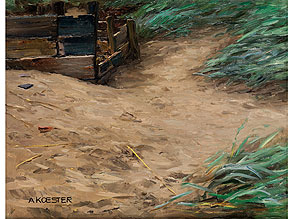Detail images:  Alexander Max Koester, 1864 Bergneustadt - 1932 München