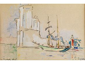 Paul Signac,  1863 Paris - 1935 ebenda
