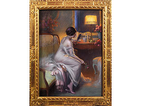 Delphin Enjolras, 1857 - 1945 Maler der französischen Schule
