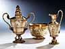 Detailabbildung: Großes Tee- und Kaffee-Service von Odiot, Paris