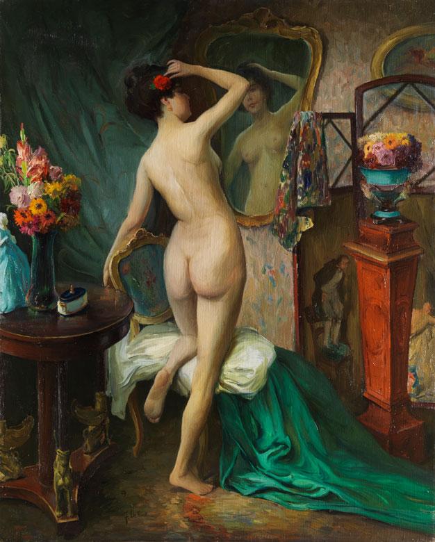 Nicola de Francesco, Maler des 19./ 20. Jahrhundert