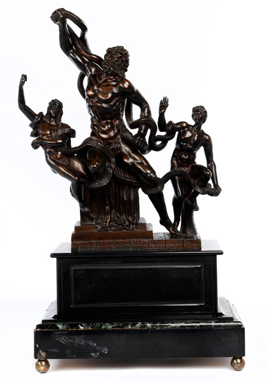 """Laokoon-Gruppe"" in Bronze"