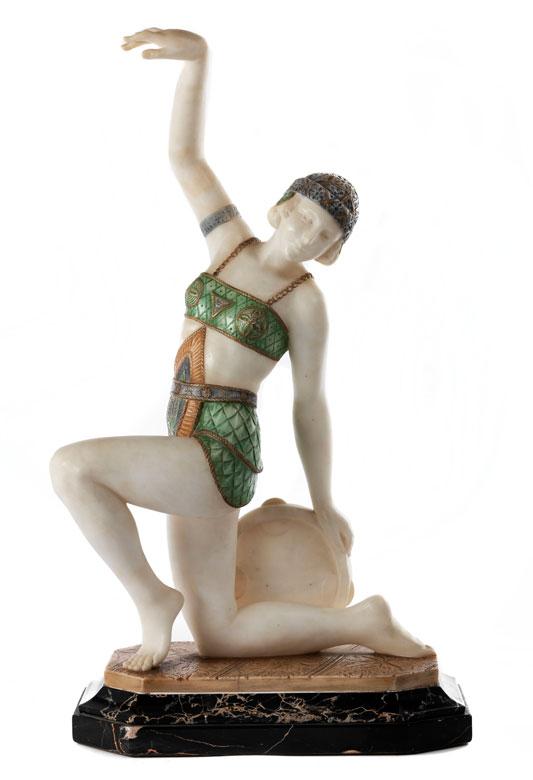 A. Saccardi, Florentiner Bildhauer des Art Déco