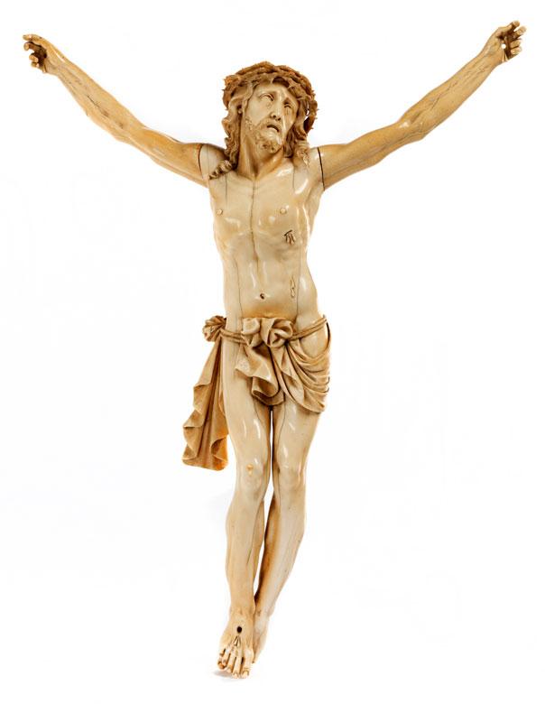 Großer Corpus Christi in Elfenbein