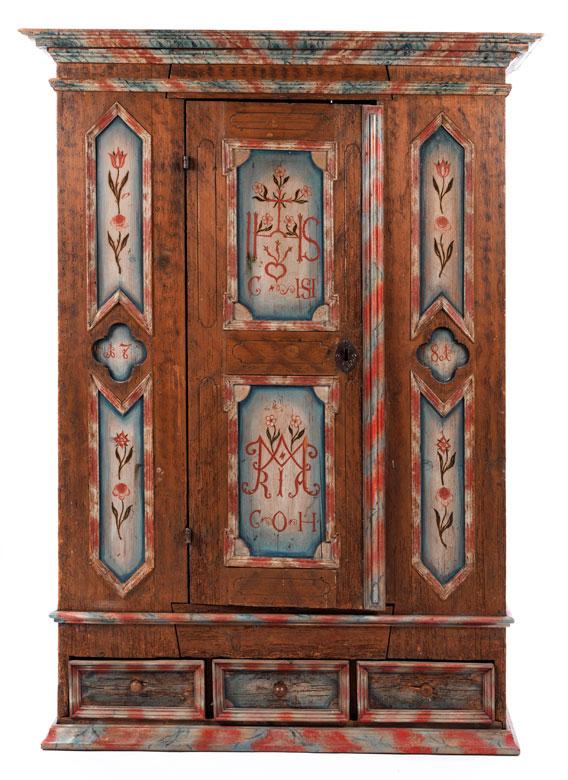 Bauernschrank - Hampel Fine Art Auctions