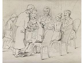 Marquard von Leoprechting Sohn des Malers Max von Leoprechting 1792 - 1822,