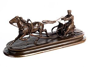 †Kleine Bronze-Figurengruppe