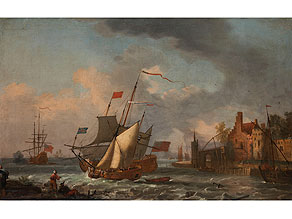 Abraham Jansz Storck, 1644 - 1708 Holland