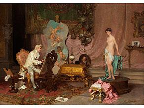 † Francesco Beda,  1840 Triest - 1900 Triest