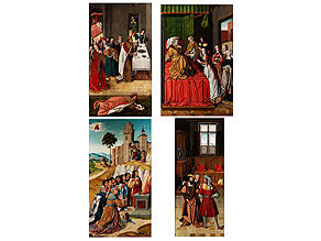 "Andalusische Schule um 1500 - 1520, aktiv in Sevilla, Anfang 16. Jahrhundert ""Meister der Schretlen Beschneidung"""