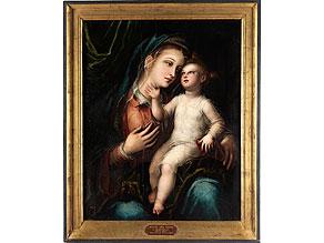 """Scipione Pulzone, 1542 - 1591, auch bekannt als """"Il Gaetano"""""""
